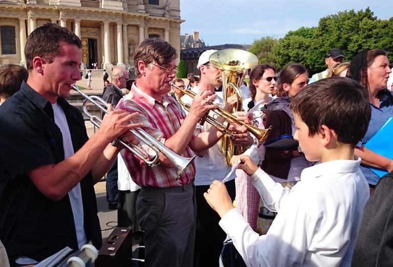 La fanfare de la procession du lundi
