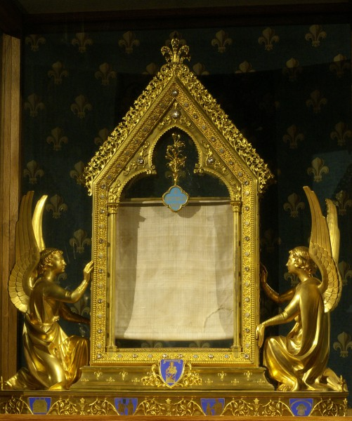 Photo voile Ste Vierge-Chartres