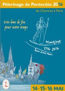 Inscrivez-vous dès maintenant au Pèlerinage de Chartres 2016 !