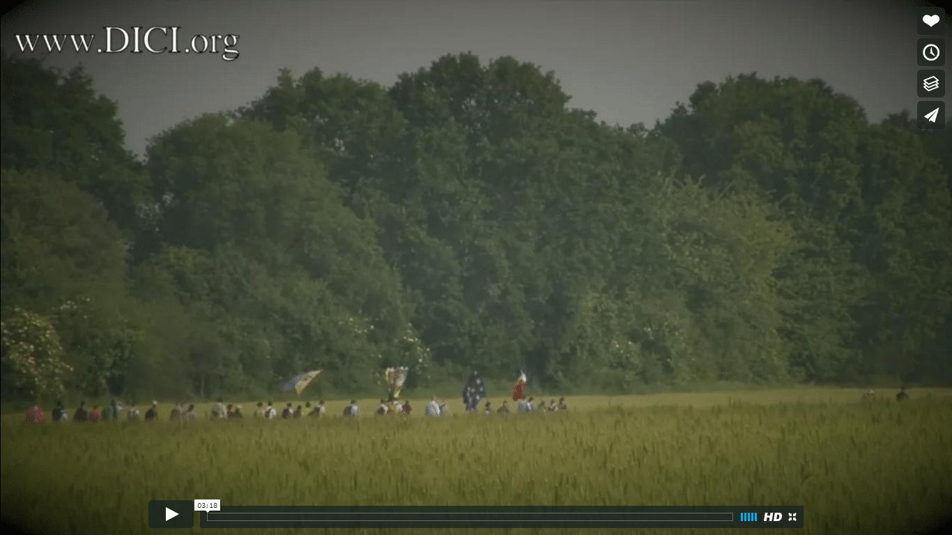 """Vidéo """"bande-annonce"""" du Pèlerinage de Pentecôte 2016"""