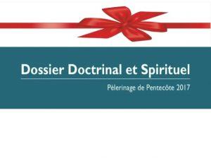 Pour Noël, offrez le dossier spirituel 2017 !