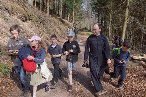 25 mars – Photos de la marche au Mont St Michel (Bas-Rhin)