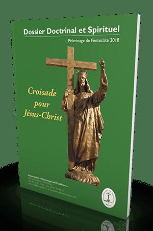 Dossier spirituel du pèlerinage de Chartres 2018