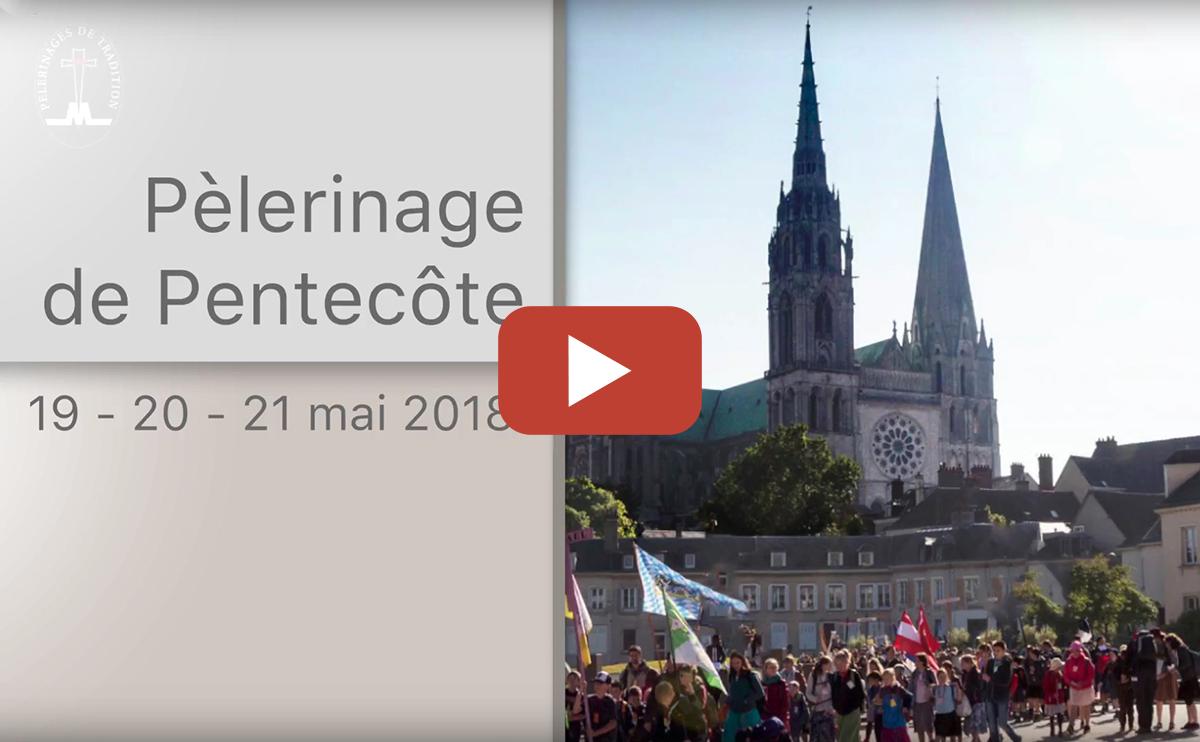 Revivez l'édition 2018 du pèlerinage de Pentecôte