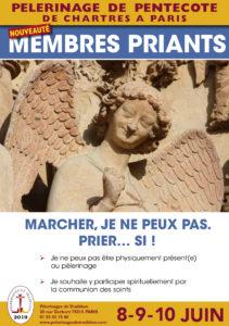 Read more about the article Présentation des Membres priants