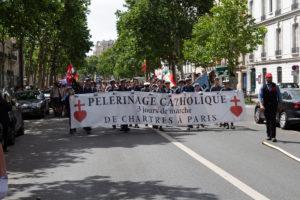Pèlerinage de Pentecôte 2019 : la procession dans les rues de Paris