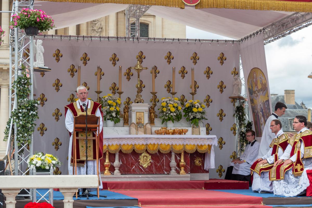 Pèlerinage de Pentecôte 2019 : le sermon de l'abbé de Jorna