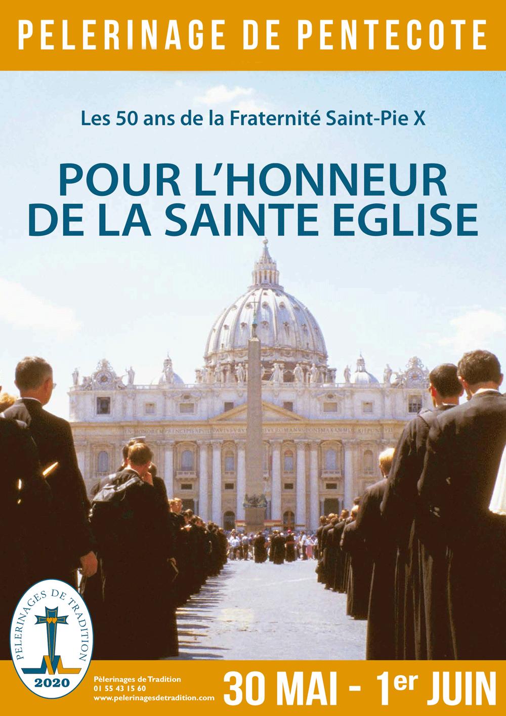 Faire le pèlerinage de Pentecôte en 2020