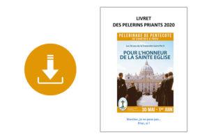 Livret du pèlerin priant – Pèlerinage de Pentecôte 2020