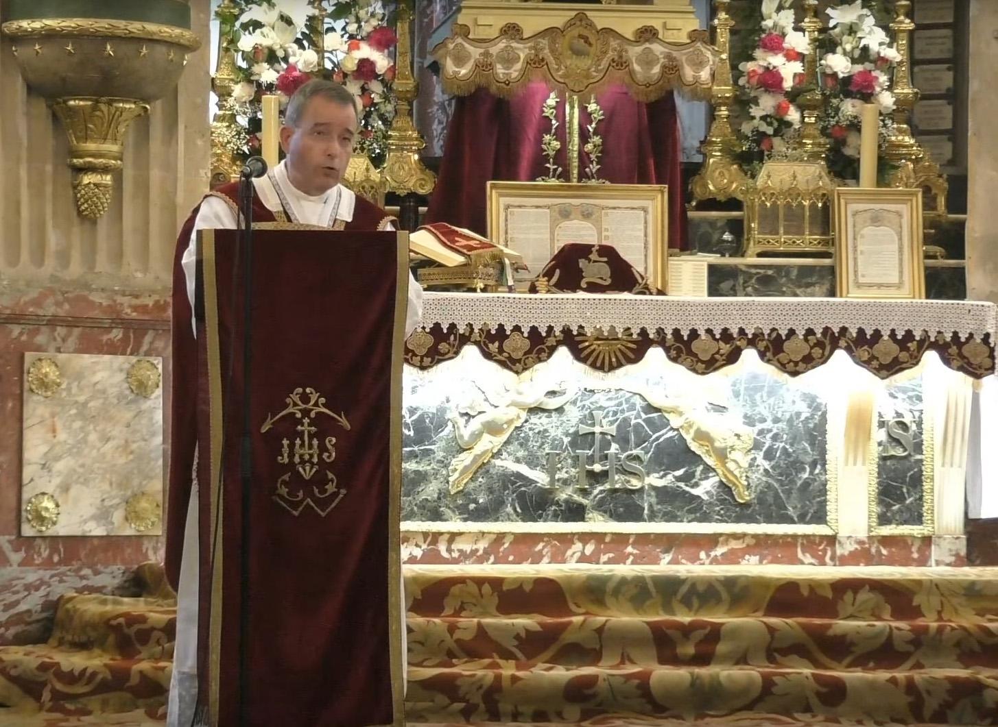 Écouter le sermon de la messe de la Vigile de la Pentecôte
