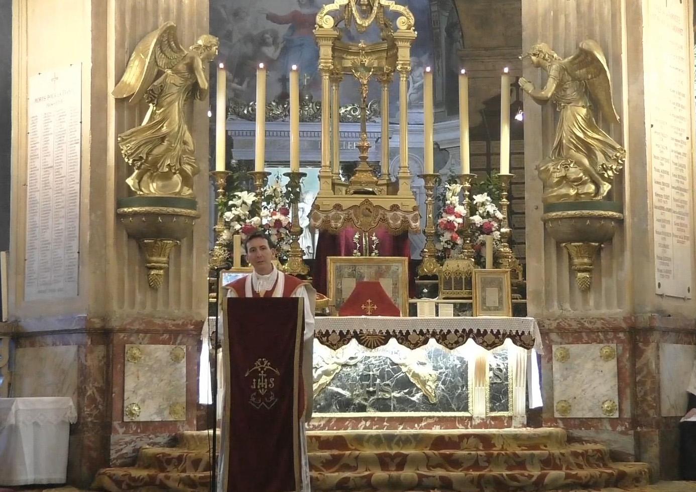 Sermon de clôture du pèlerinage de Pentecôte